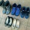 手持ち靴の数<2018年冬>