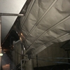 畑作業所ではない。台風で家がぶっ壊れた!
