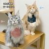 スタイリッシュ可愛い猫用エプロン