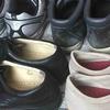 複数の靴を一度に処分する、一つの方法。