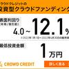 クラウドクレジット口座開設キャンペーンで10万円貰えます!