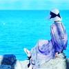 海の見える午後