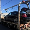 行田市から車検の切れた故障車の外車をレッカー車で廃車の引き取りしました。