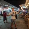 【ふくろう】バンコク近くのローカルナイトマーケットをレポ!【夜市場】