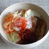43冊目『おうちで美味しい韓国ごはん』から4回めはビビンめん