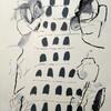 村松画廊の藤澤江里子展、完成された抽象画家