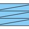 表の斜線の[黒]スウォッチがオーバープリントにならない