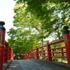 恋活の聖地! 修善寺温泉街「5つの赤い橋」目的の伊豆旅行