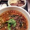 ●浦和「うら一」ユッケジャンうどん+ミニ牛タン丼のセット