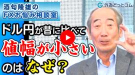 FX「今と昔でドル円の1日の値幅が違うのはなぜ?」2021/2/10