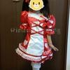 【手作り】魔法使いプリキュア! キュアミラクル ルビー コスプレ衣装②