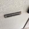 ドアのポスト口交換・便器外してクッションフロア貼った・パテ塗り