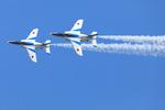 ブルーインパルス2機や新政府専用機の展示飛行。千歳基地航空祭に行ってきました!!