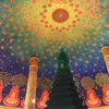 【バンコク週末トリップ①】天井画の美しいワットパクナム(Wat Paknam)へ