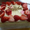 母のバースデーケーキ
