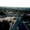 ブールジュの大聖堂北塔から官庁街を見る