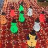 大阪駅・時空の広場で毎年恒例の「スノーマン」を見てきました