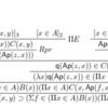 """「直観主義型理論(ITT, Intuitionistic Type Theory)」勉強会ノート其ノ拾七「選択公理」「""""〇〇 such that □□""""みたいなやつ」(予習編)"""