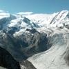 モンテローザと氷河