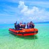 アドベンチャーボートで行くパナリ島シュノーケル