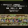 【パズドラ】5月クエスト チャレンジダンジョン9 雷神パ