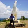 陣馬山へ妻と灼熱ハイキング