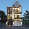Mẫu thiết kế biệt thự phố 3 tầng hiện đại và tinh tế tại Đà Nẵng