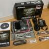 ASRock J3160DC-ITXとLian Li PC-Q21を組み立てる