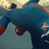 これが解剖学的に正しい『スパイダーマン』、だって蜘蛛だもの。