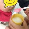 【生後5ヶ月】初めての離乳食、けっこう食べる! ←水や麦茶は飲まない・・・