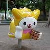 """大田区公式PRキャラクター / """"はねぴょん"""" / 点在する公園遊具たち"""