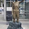 ソウルの駅前に徴用工の像…仁川の公園にも