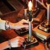 【DSL-17-001】工業系卓上照明|インダストリアル黒キャンドルテーブルライト|Hi-Romi.com 完全オリジナル照明