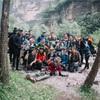 登山部で1泊2日の山登り&キャンプ!〜20人で北京郊外の后河へ〜