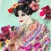 新作です。「花を愛でる 〜Appreciate flowers〜」- 刺繍 -