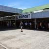 カリボ空港ではウェブチェックインは意味なし