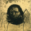 art-centric: The Crying Spider Odilon Redon, 1881