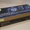 Nikon D5200 標準ズーム+マイクロレンズキットの購入