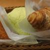 通りすがりのパン屋でパンを食した!