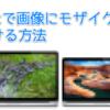 MacのToyViewerで画像にモザイクをかける方法