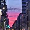 ピンクのお空