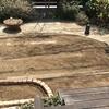 汚庭改造 3.やっと整地が完了