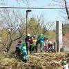 卯辰山でばら組さんが遊んでいました。