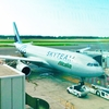 アリタリア航空エコノミークラスの搭乗機と機内食 南イタリア一人旅のはじまり!