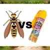 蜂の巣の除去方法を解説。ハチアブマグナムジェット【害虫駆除】