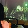プログラミングとプロジェクタを使って娘のためにお家花火大会を開催してみた