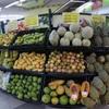 クアラルンプール旅行(21)フルーツをスーパーで買って食べてみた
