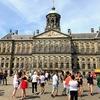 アムステルダム駅のコインコッカー見つからない・・その後、市内観光へ
