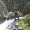 〈個人山行〉八淵の滝遡行