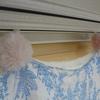カーテンクリップで、お気に入りの布をカーテンにしてみる